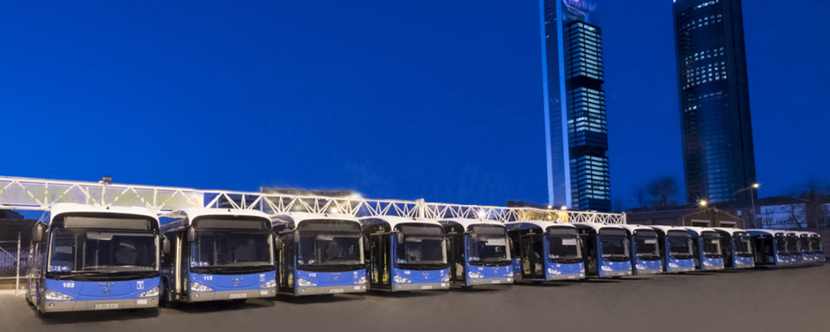 The city of Madrid already has 15 zero emissions Irizar Electric Buses