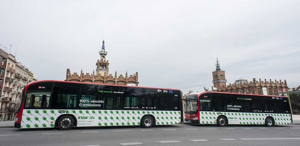 Irizar selected in the European ZeEUS project
