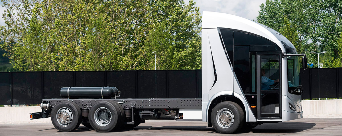 The Irizar ie truck is the new and innovative electric vehicle from the Irizar Group