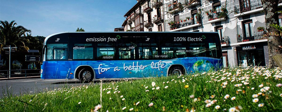 Irizar fabricará 10 autobuses eléctricos 0 emisiones para la ciudad de Düsseldorf en Alemania