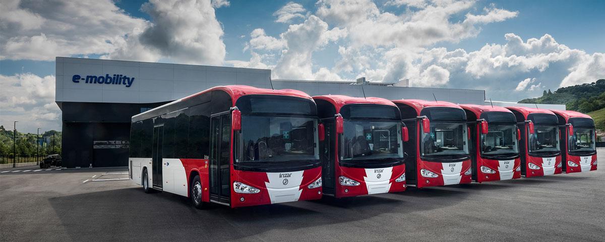 Luxembourg incorpore six autobus électriques zéro émission du modèle Irizar ie bus