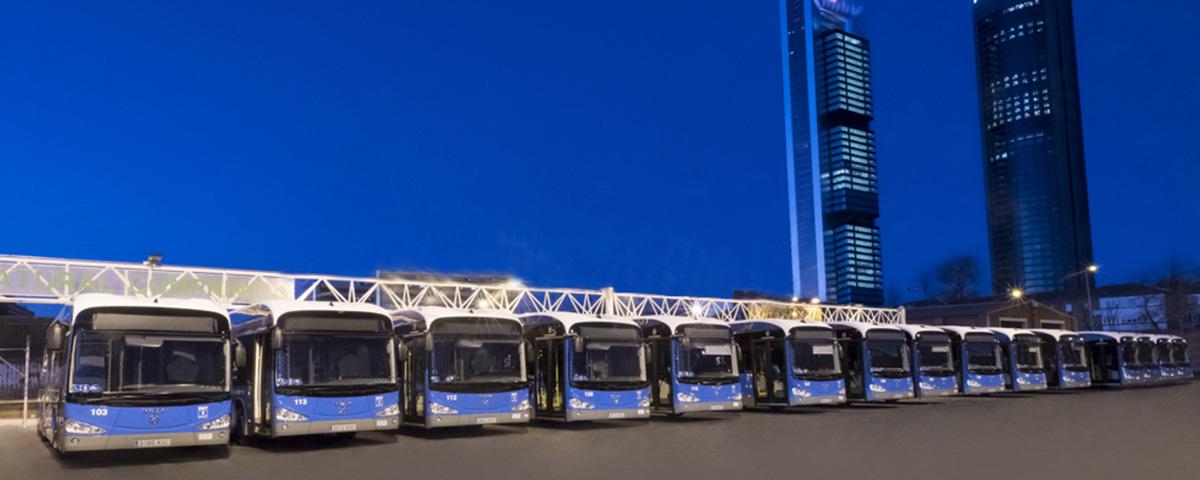 La ville de Madrid possède désormais 15 autobus électriques zéro émission d'Irizar