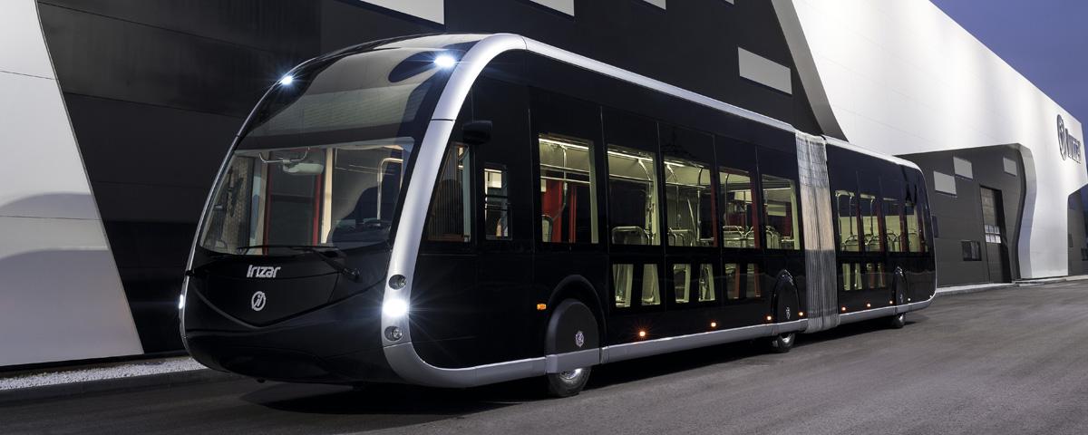 L'Irizar ie tram, autobus articulé 100% électrique zéro émission d'Irizar reçoit le Prix Autobus de l'année et Véhicule Industriel Écologique 2018 en Espagne