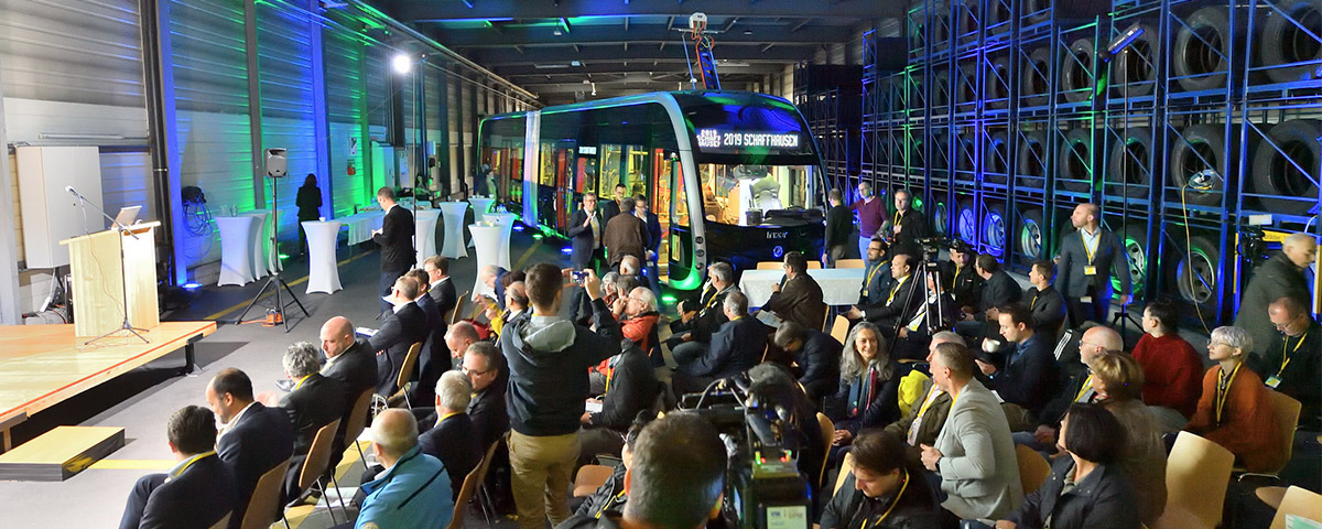 Irizar wins the contract to supply the electric bus system for the Swiss city of Schaffhausen