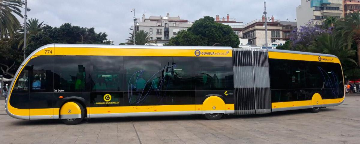 Delivery of the first Irizar bus 100% electric, zero emissions for the operator Guaguas Municipales in Las Palmas de Gran Canaria
