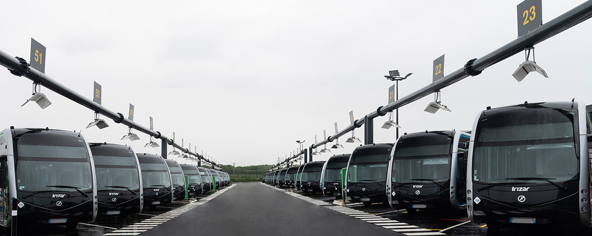 Irizar awarded the two largest zero-emission electric bus contracts in Spain