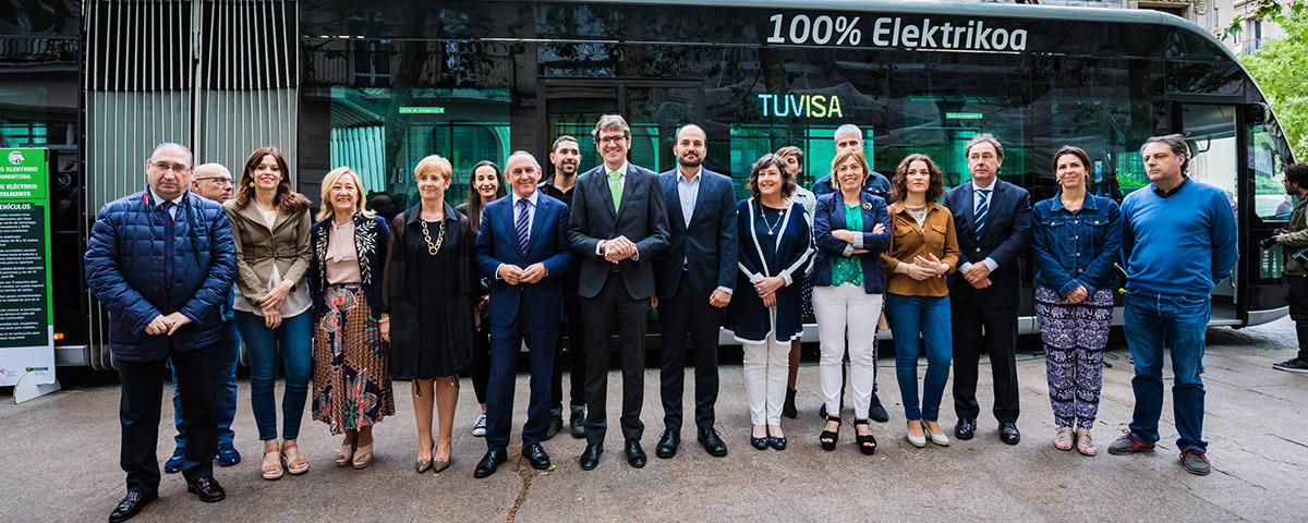 Hoy se ha presentado el Irizar ie tram en Vitoria-Gasteiz
