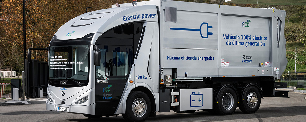 The Irizar ie truck, the zero-emission truck from the Irizar Group, has won the World Smart City award in the Innovative Idea category