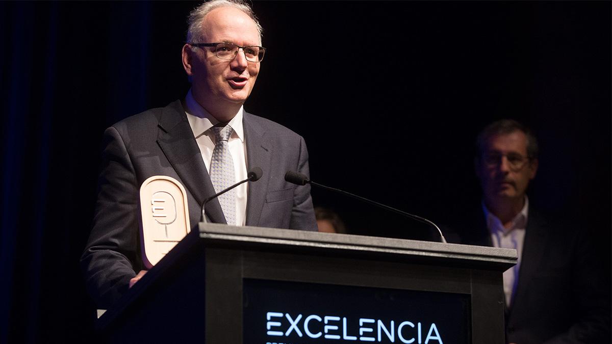 El Grupo Irizar recibe el Premio a la Excelencia