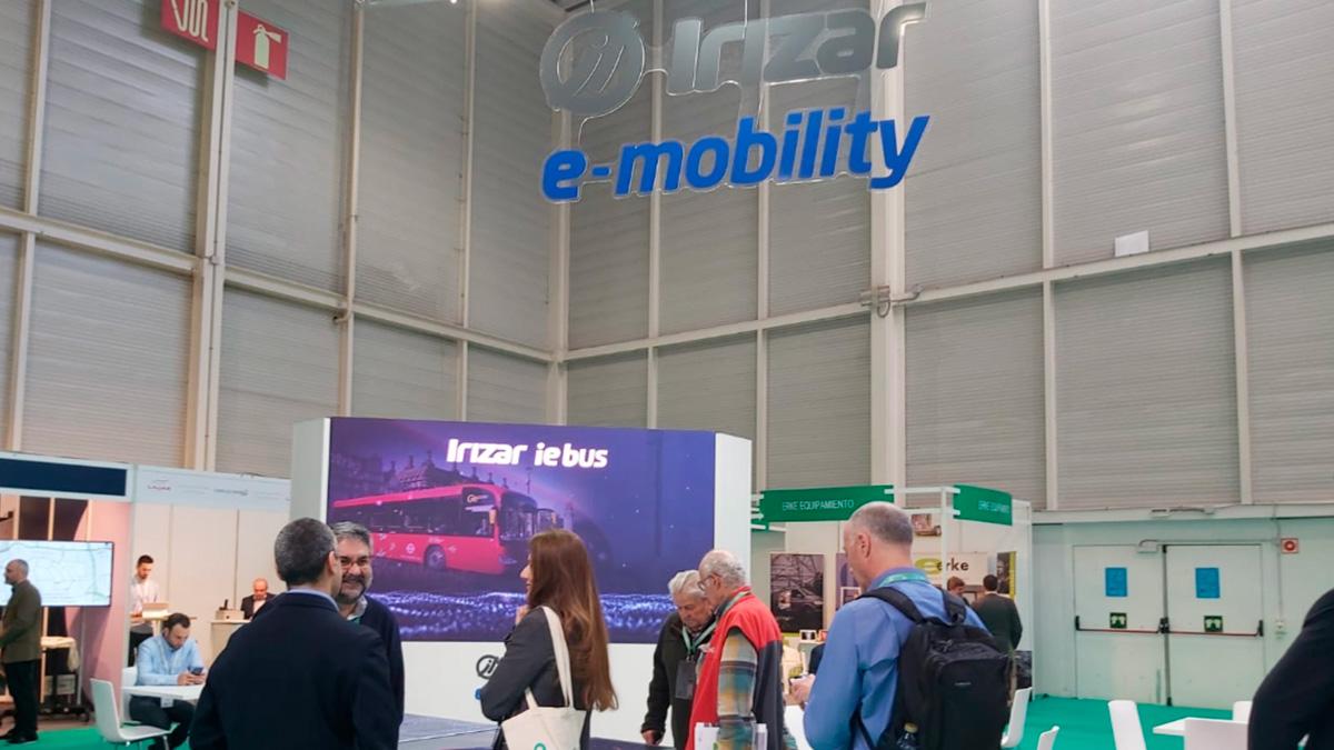 Las soluciones de electromovilidad de Irizar e-mobility presentes en Go-Mobility