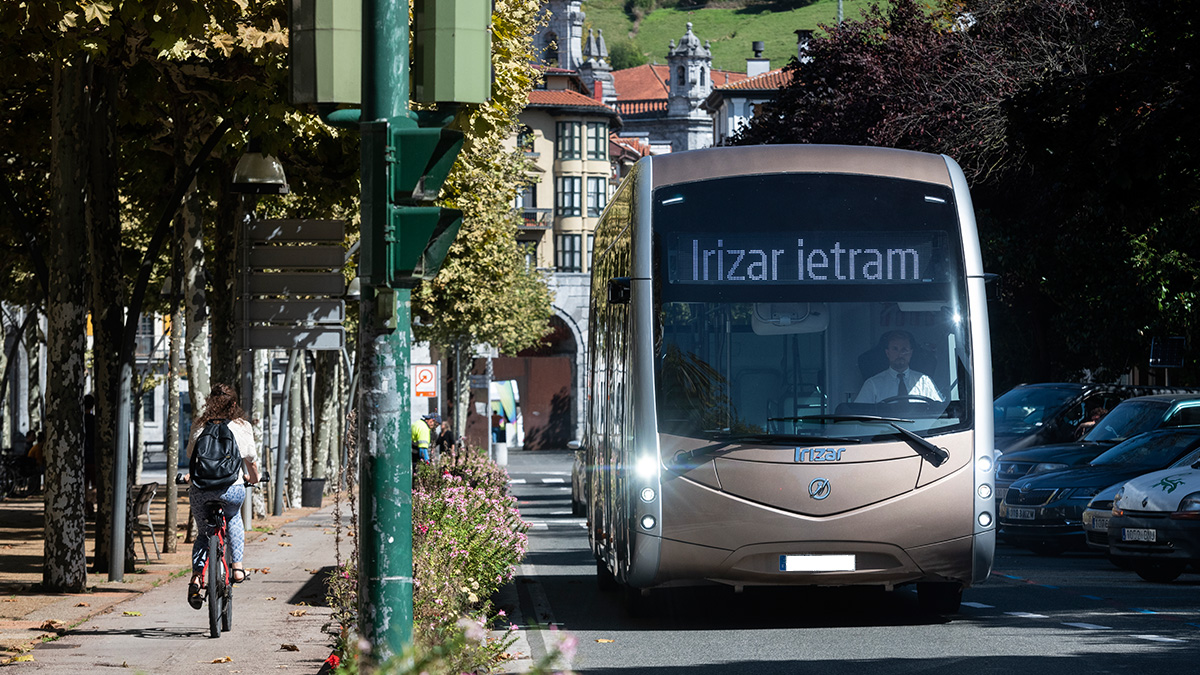 29 Irizar e-mobility buses for the roll-out of a fully electric public transport system in Orleans