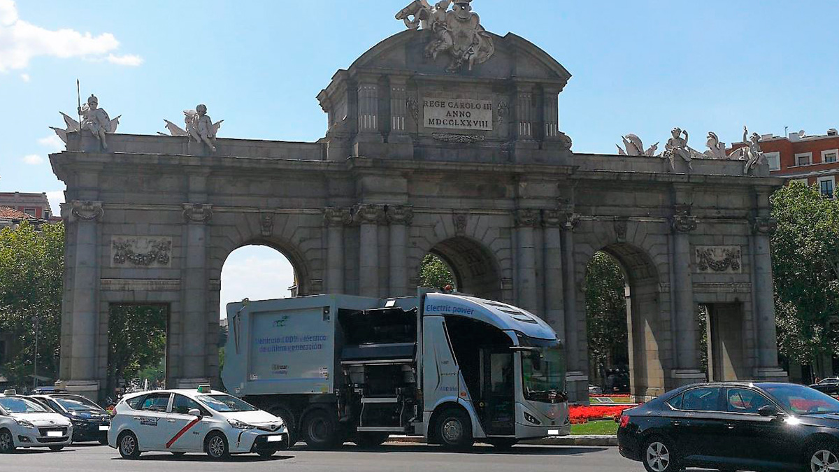 Irizar e-mobility presents the Irizar ie urban truck in Madrid